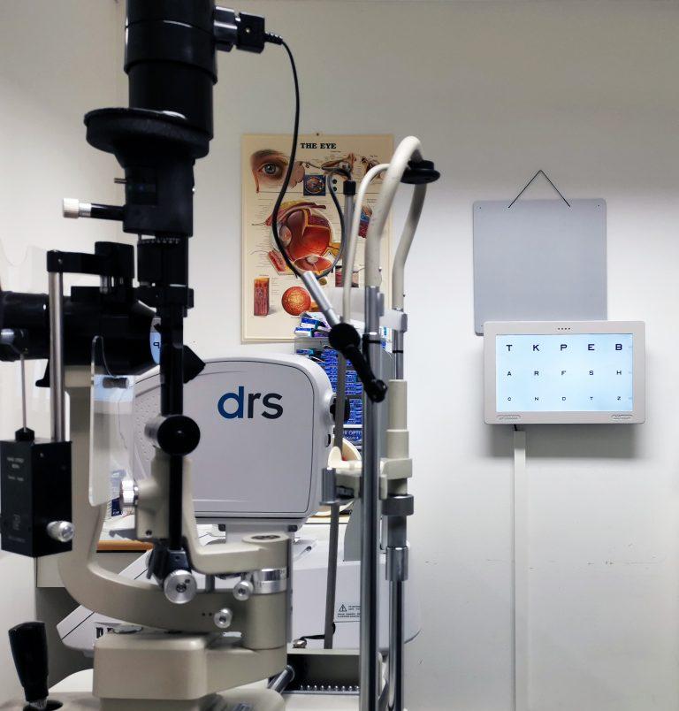näöntarkastus, näkötarkastus