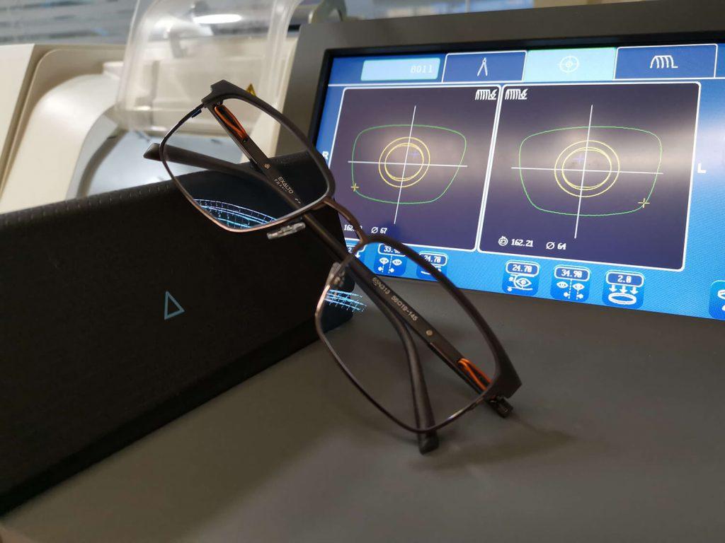 silmälasit, silmälasien teko