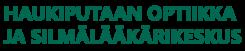 Haukiputaan Optiikka ja Silmälääkärikeskus logo